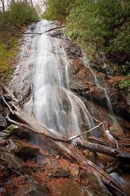 Photograph - Icy Cascades by Debra and Dave Vanderlaan