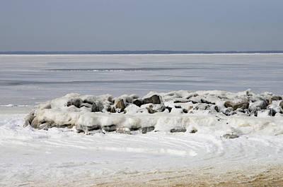 Photograph - Icy Chesapeake by Steve Atkinson