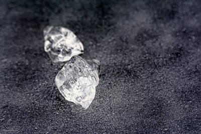 Photograph - Icy Diamonds On The Pond by LeeAnn McLaneGoetz McLaneGoetzStudioLLCcom