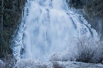 Photograph - Icy Falls by Robert Potts
