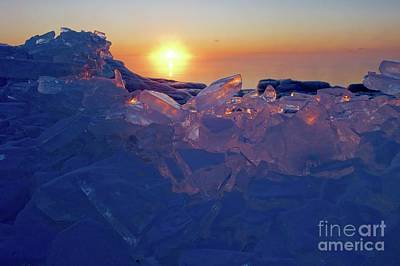 Photograph - Icy Gems by Sandra Updyke