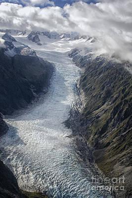 Photograph - Icy Glacier by Patricia Hofmeester