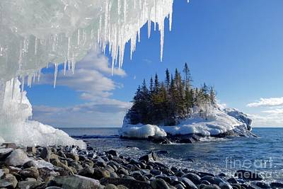 Photograph - Icy Island View by Sandra Updyke