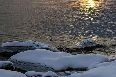 Photograph - Icy Islands - by Georgia Mizuleva