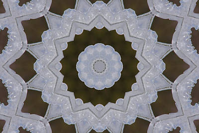 Photograph - Icy Lace Kaleidoscope by Robyn Stacey