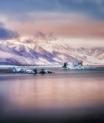 Photograph - Icy Morning Stillness  by Nicki Frates