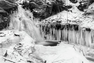 Photograph - Icy Ozone Falls by Lori Deiter