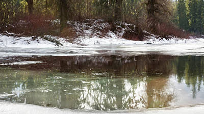 Photograph - Icy Reflections by Belinda Greb
