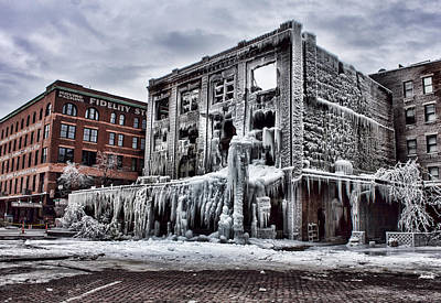 Photograph - Icy Remains - After The Fire by Jeff Swanson