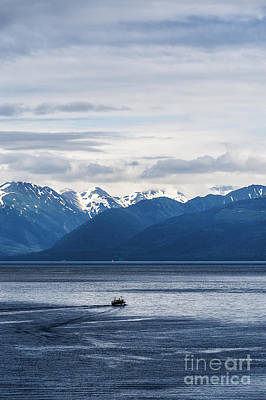 Up Up And Away - Icy Strait Fishing by John Greim
