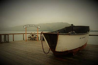 Photograph - Icy Strait Point Boat by Cheryl Hoyle