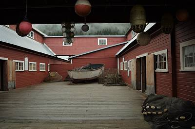 Icy Strait Point Cannery Museum Art Print