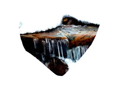 Icy Stream Print by Connor Beekman