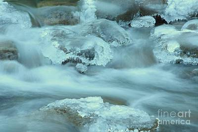 Photograph - Icy Stream by Frank Townsley