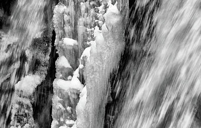 Photograph - Icy Tumult by Cate Franklyn