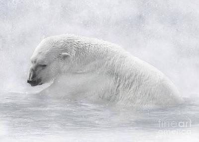 Digital Art - Icy Waters by Lynn Jackson