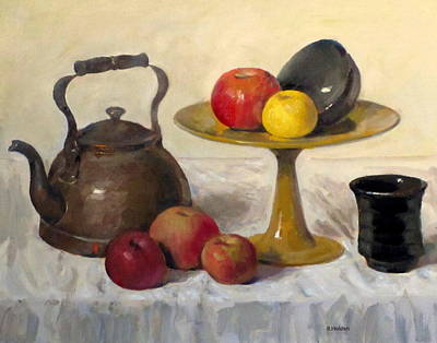Painting - I'd Rather Have Cake by Robert Holden