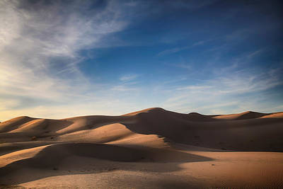 Desert Photograph - I'd Walk A Thousand Miles by Laurie Search