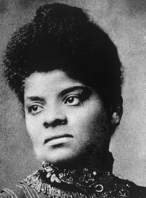 Ida B. Wells 1862-1931 Print by Everett