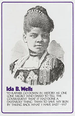 Photograph - Ida B. Wells by Granger