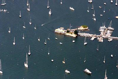 Photograph - Ida Lewis Yacht Club Newport Rhode Island 2 by Duncan Pearson