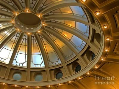 Photograph - Idaho Capitol Deco Dome by Patricia Strand