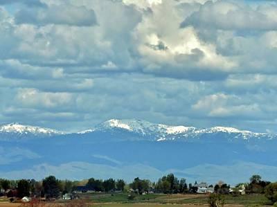 Photograph - Idaho Cloudscape by Rosanne Licciardi
