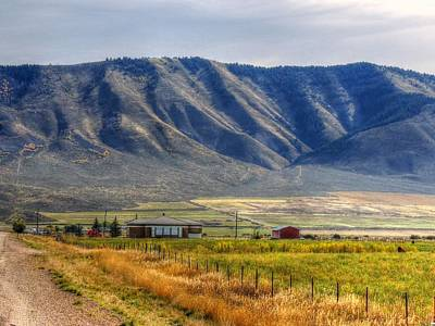 Photograph - Idaho In October by Charlotte Schafer
