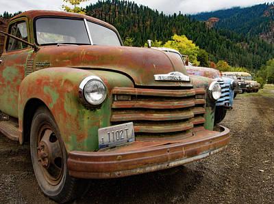 Photograph - Idaho Lineup by Jean Noren