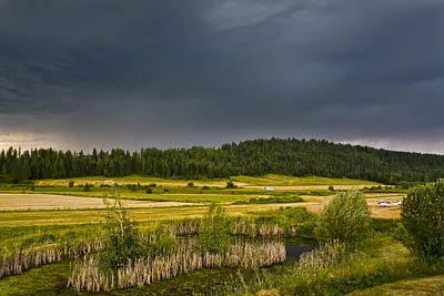 Photograph - Idaho Ranch Landing Strip by Waterdancer