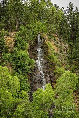 Photograph - Idaho Springs Bridal Veil Falls by Jon Burch Photography
