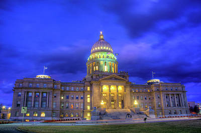Idaho State Capital Art Print