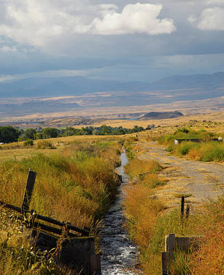 Photograph - Idaho Stream by Dart and Suze Humeston