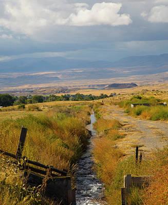 Photograph - Idaho Stream by Dart and Suze Humeston