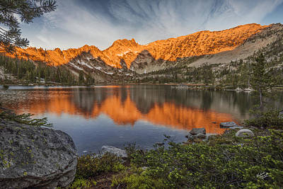 Restful Photograph - Idaho Wilderness by Leland D Howard