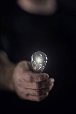 Photograph - Idea Man by Trish Mistric