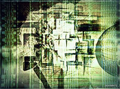 Identity In Uninterrupted Mutation Original by Paulo Zerbato