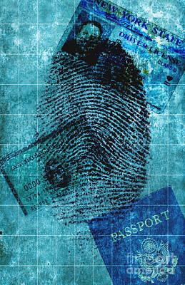 Identity Theft Art Print by George Mattei