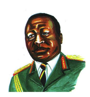 Idi Amin Dada Art Print