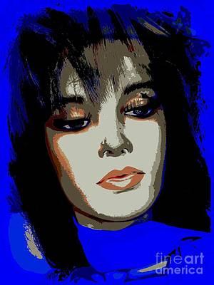 Digital Art - Idina by Ed Weidman