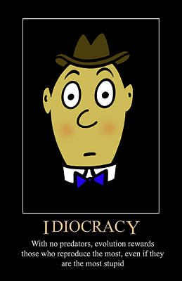 Digital Art - Idiocracy by John Haldane