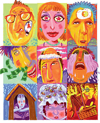 Idioms Art Print by Annabel Lee