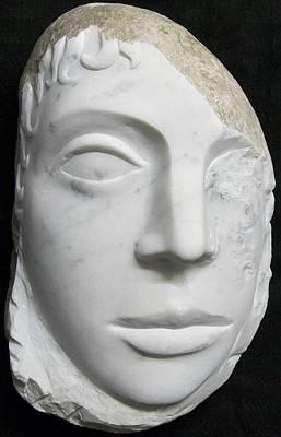 Idol Of Cydonia Art Print by Marino Ceccarelli Sculptor