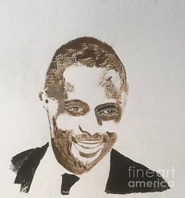 Painting - Idris Elba by Audrey Pollitt