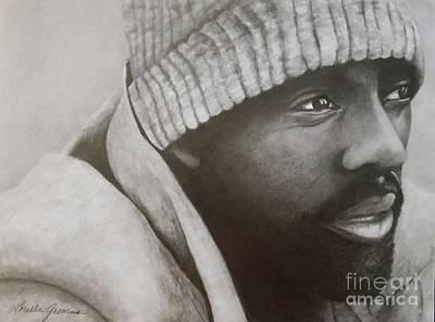 Drawing - Idris Elba by Lorelle Gromus