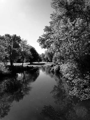 Photograph - Idylic Stream II by Everett Bowers