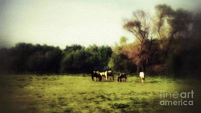 Mixed Media - After The Day Is Done by Abbie Shores