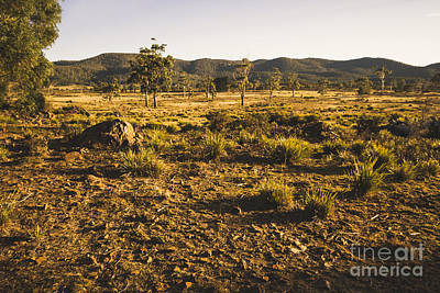 Photograph - Idyllic Rural Australia Farmland  by Jorgo Photography - Wall Art Gallery