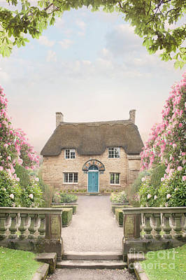 Photograph - Idyllic Thatched Cottage  by Lee Avison