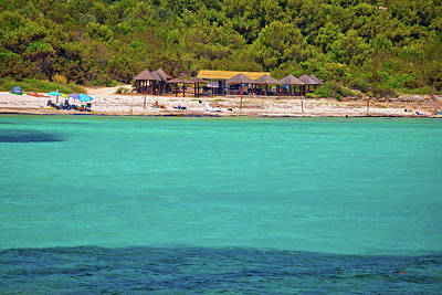 Photograph - Idyllic Turquoise Beach Sakarun On Dugi Otok Island by Brch Photography